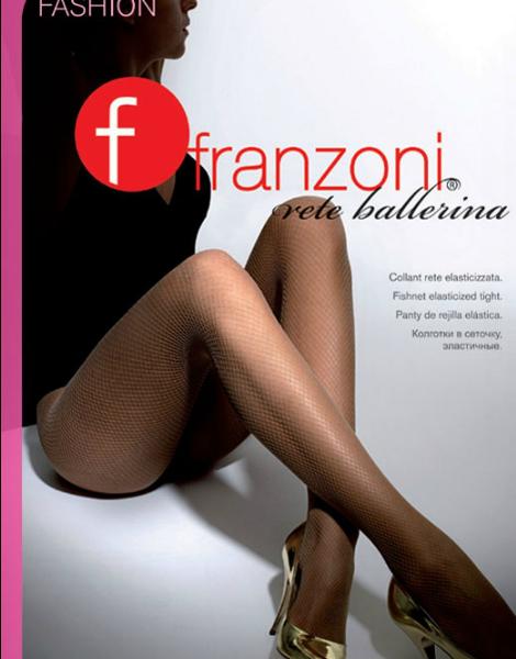 Collant donna microrete new Franzoni